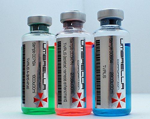 Resident Evil T-Virus, Anti-Virus, T-Virus (Nemesis Enhancment) Novelty prop