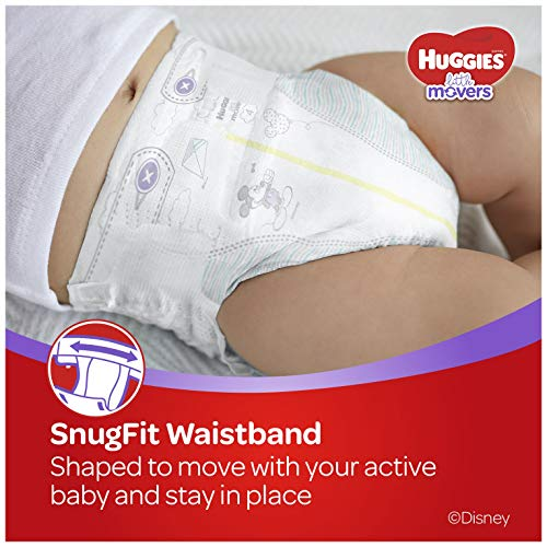 HUGGIES Little Movers Diapers, Size 5, 124 Count (Packaging May Vary) by Huggies (Image #6)