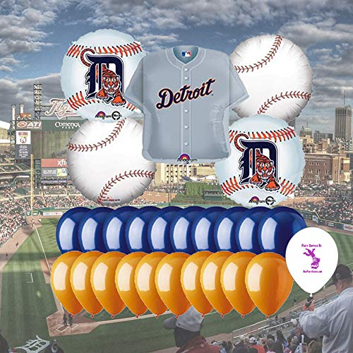 Detroit Tigers 25 Pieceバルーンセット   B074S778RH