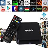 Zenoplige M8S+ M8S Plus Android 5.1 TV Box Kodi Pre-installed Fully Loaded Add-ons 2G/8G Amlogic S812 Quad Core 4K Dual Band Wifi 2.4G/5G 802.b/g/n AC Gigabit Lan 1000M Enternet REALMEDIA