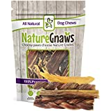 Nature Gnaws 100% Natural Beef Dog Chews - Small Variety Pack - (3) Jr Bully Sticks, (3) Braided Bullys, (3) Jerky Springs & (3) Tendons (12 total pieces) - Oven-Baked Grass-Fed Free-Range Treats