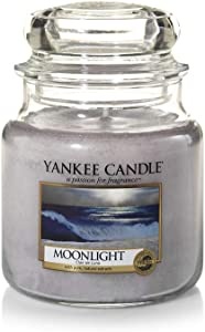 Yankee Candle Moonlight Small Jar Candle, White
