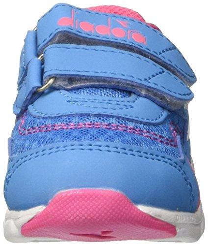 Diadora Flamingo I, Zapatillas de Running Para Niños Azul (Azzurro Bello Rosa Limonata)