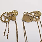 BLESSUME Unisex Steampunk Brooch Lapel Pin 7