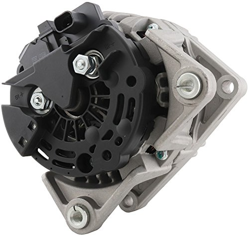.8L Saturn Astra 08 09 2008 2009 124425060, 93188158, 95515976, 11501,12Clock 120Amp Clutch Pulley Type Internal Regulator CW Rotation 12V ()