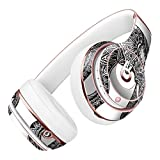 Black and White Aztec Ethnic Elephant DesignSkinz Full-Body Skin Kit for the Beats by Dre Solo 2 Wireless Headphones / Ultra-Thin / Matte Finished / Protective Skin Wrap