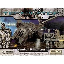 Best Lock the Terminator: Hunter Killer Aerial with Terminator Robot Figure Nib