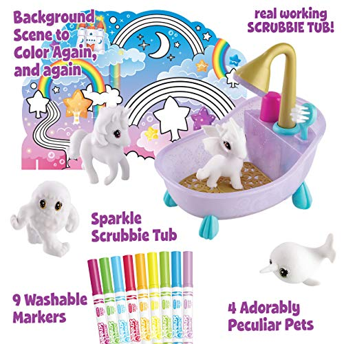 Crayola Scribble Scrubbie, Peculiar Pets, Gifts for Girls & Boys, Kids Toys, Ages 3, 4, 5, 6