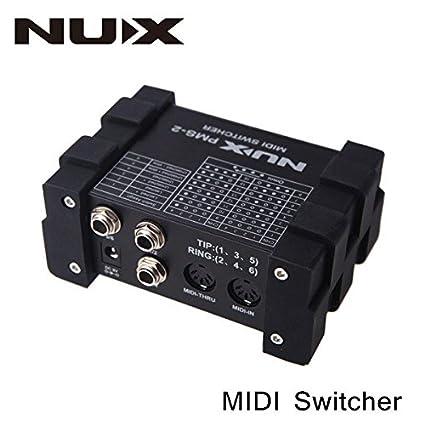 Frontier PMS-2 Nux guitarra midi interruptor del interruptor 6 ...
