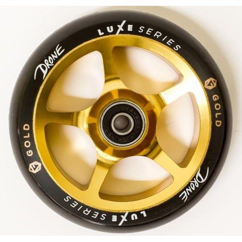 Drone Luxe 110mm Wheels Gold (Drone Wheels)