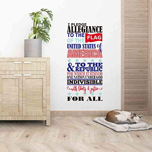 iBOXO Wall Decal Independence Day DIY Wall Sticker Decals for Room Home Nursery Decor