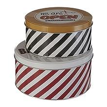 Premier Housewares 0507302 - Lata de almacenamiento, multicolor
