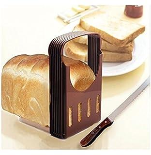 Rebanadora portátil plegable para tostadas, rebanador compacto para pan, herramientas para hornear