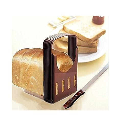Rebanadora portátil plegable para tostadas, rebanador compacto para pan, herramientas para hornear en Amazon.es