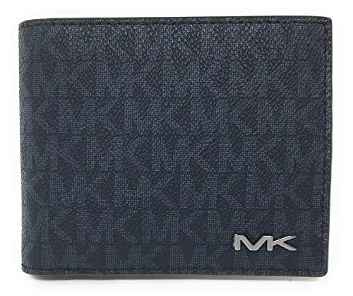Michael Kors Men's Cooper Billfold with Passcase Wallet (Baltic Blue) ()