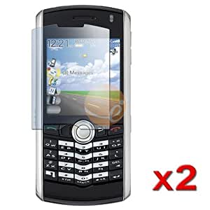 2-Pack Reusable Screen Protector for Blackberry Pearl 8100 / 8110 / 8120 / 8130