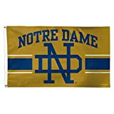 WinCraft Notre Dame Fighting Irish Official NCAA 3' x 5' Vault Deluxe Banner Flag by 086433