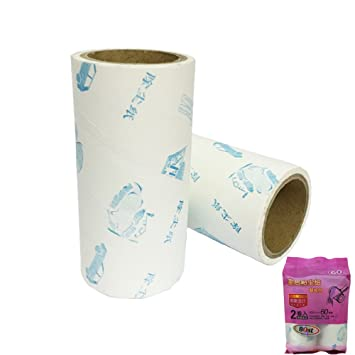 b1st lint roller refill adhesive stickers tape 394x15 inch for lint roller replacement