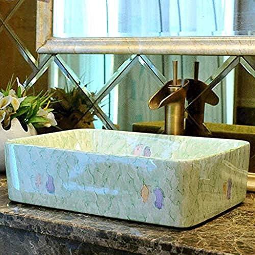 レトロ上記カウンター盆地衛生シンク洗面台セラミック容器洗濯ハンズプールバスルームシンク