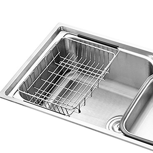 Kitchen Folding Small Mat Over The Sink Compact Stainless...