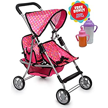 Amazon.com: Hauck Doll Twin Stroller Spring Baby Doll ...