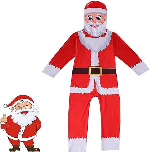 OOFAY Muñeco De Nieve Navidad Hombre Árbol Traje Cosplay Papá Noel ...