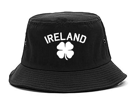 Ireland Shamrock St Paddys Day Mens Bucket Hat Black at Amazon Men s ... 88030e3d3af