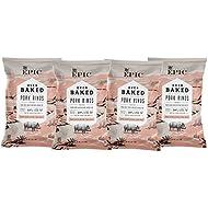 EPIC Pink Himalayan Salt Pork Rinds, Keto Consumer Friendly, 4Ct Box 2.5oz bags