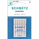 25 Schmetz Universal Sewing Machine Needles 130/705H 15x1H Size 80/12