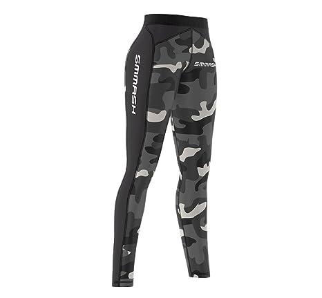 fe238b3bcdeec8 SMMASH X-WEAR Smmash CrossFit Women's Leggings CAMO long: Amazon.co ...