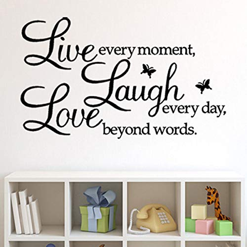 Top quotes wall decor stickers kitchen