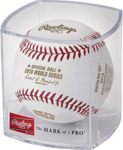 - Sports Memorabilia Boston Red Sox 2018 MLB World Series Champions Logo Baseball - MLB Baseballs
