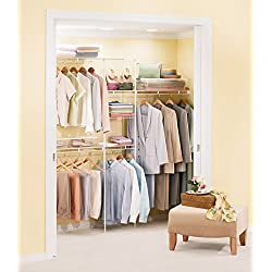 Rubbermaid 5138 4-to-8-Foot Expandable Wardrobe Organizer