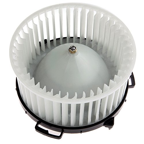 (HVAC plastic Heater Blower Motor w/Fan Cage ECCPP Front for 2004-2009 Mazda 3/2006-2010 Mazda 5 )