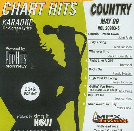 Country Karaoke Music CDG - May 2009