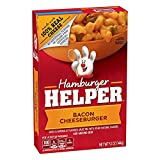 Betty Crocker Hamburger Helper, Bacon Cheeseburger Hamburger Helper, 5.1 Oz Box