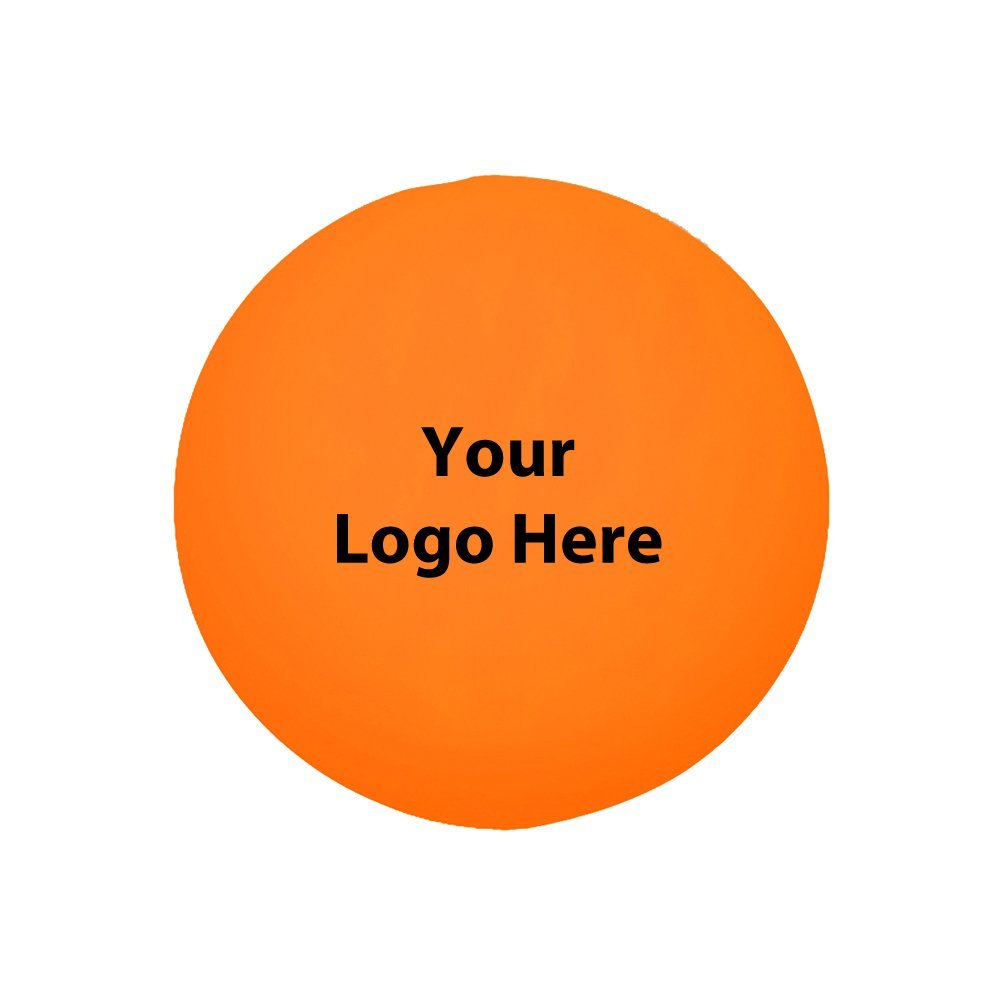 """Ball Stress Reliever - 100 Quantity - $1.25 Each - PROMOTIONAL PRODUCT / BULK / BRANDED with YOUR LOGO / CUSTOMIZED. Size: 2-3/4"""" Diamter"""
