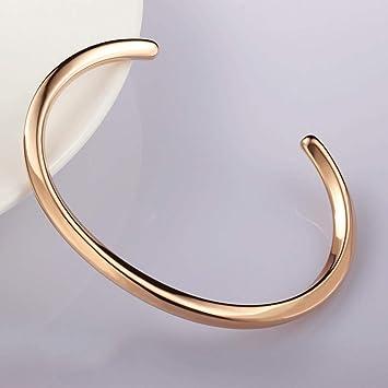 676eac146b89 Pulsera Pulsera para hombres y mujeres Pulsera con diamantes brillantes  Diamante de acero chapado en titanio Pulsera de oro de 18 quilates ...