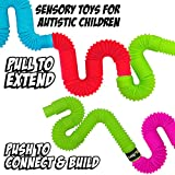 BunMo Pop Tubes Sensory Toys - Fine Motor Skills