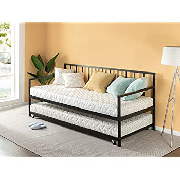 Amazon Com Dhp Manila Metal Framed Daybed With Trundle