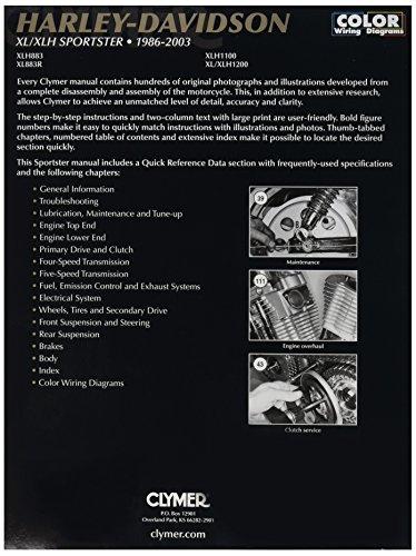Clymer Harley Davidson XL Sportster (04-06) Manual M427-1 by Clymer (Image #1)