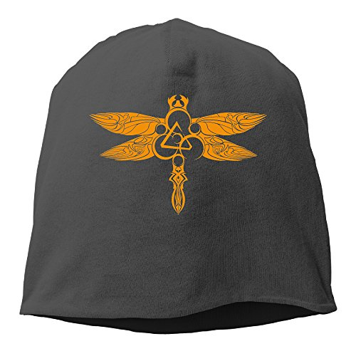 YUVIA Coheed Cambria Rock Band Men's&Women's Patch Beanie TourBlack Cap For Autumn And Winter