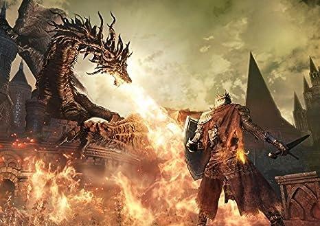 Dark Souls 3 Poster by Dark Souls: Amazon.es: Videojuegos
