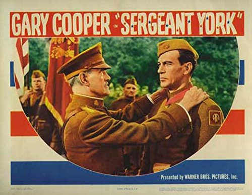Sergeant Poster York - Sergeant York (E) POSTER (11