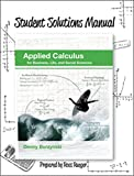 img - for Student Solutions Manual for Applied Calculus book / textbook / text book