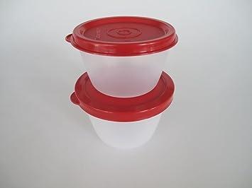 Kühlschrank Dosen : Tupperware uno duo dose box vorrat kühlschrank rot ml