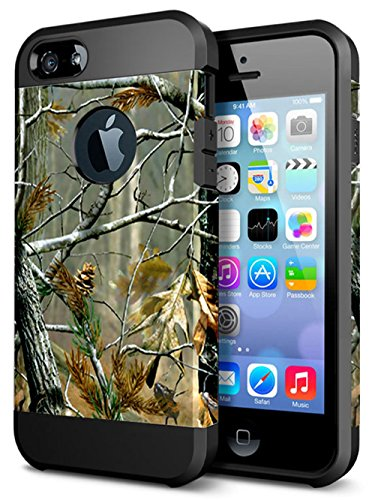 iPhone 6 6S Case,ACCBTECH iPhone 6 6S Dual Layer Camouflage Tree Shockproof Protective Case TPU Bumper Hard PC Back Case Cover for Apple iPhone 6/6S 4.7 inches(Tree - Case Camouflage