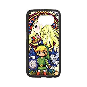 The Legend of Zelda Samsung Galaxy S6 Cell Phone Case White JU0989488