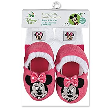 Minnie Mouse Sock & Slippers Set
