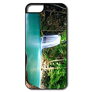 IPhone 5 5s Case Skin Forest Falls Summer - Custom Love IPhone 5 5s Skin For Him